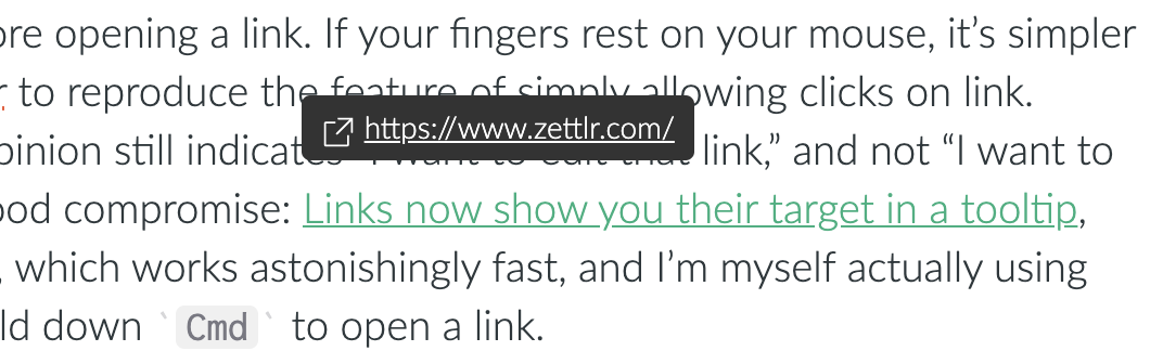 Link Tooltips